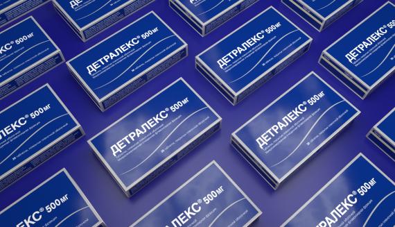 Детралекс® 500 мг 60 таблеток