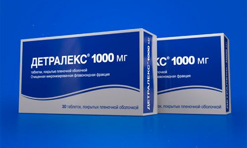 Детралекс® 1000 мг 30 таблеток